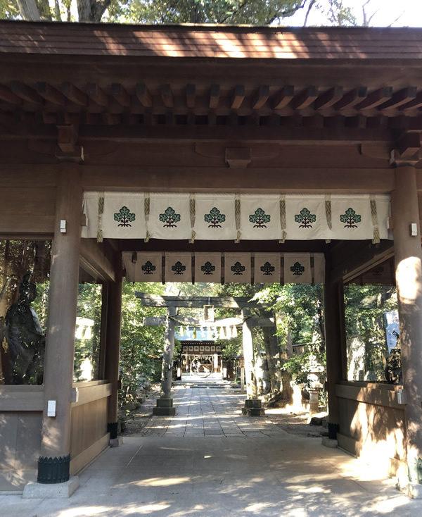 諏訪神社 流山市駒木