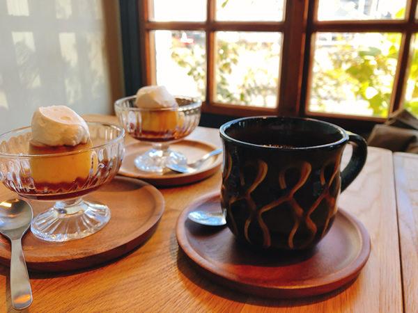 自家焙煎のハンドドリップコーヒー